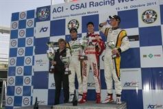 podium race 1, ITALIAN FORMULA 3 CHAMPIONSHIP
