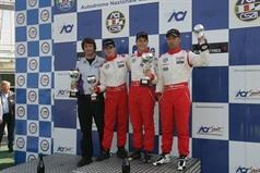 podium race 2, CAMPIONATO ITALIANO FORMULA ACI CSAI ABARTH
