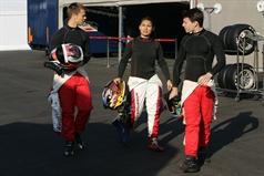 Patric Niederhauser (SUI), Tatuus FA010 FPT, Jenzer Motorsport and B. Samir Gomez (VEN),Tatuus FA010 FPT,Jenzer Motorsport and Robert Visoiu (ROU),Tatuus FA010 FPT, Jenzer Motorsport GMbh , CAMPIONATO ITALIANO FORMULA ACI CSAI ABARTH
