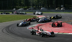 start race 1, ITALIAN FORMULA 3 CHAMPIONSHIP