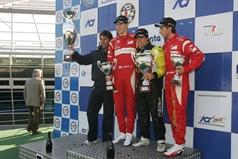 podium race 2, ITALIAN FORMULA 3 CHAMPIONSHIP