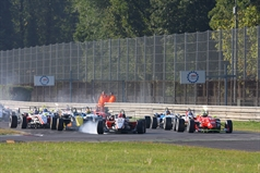 start race 2, ITALIAN FORMULA 3 CHAMPIONSHIP