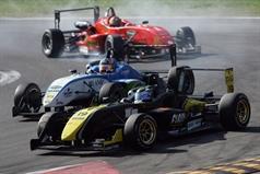 Victor Guerin (BRA),Dallara F308 FTP 420 CIF3,Lucidi Motors Srl and Sergio Campana (ITA), Formula 3 Dallara 308 FPT 420 CIF3, BVM Srl , ITALIAN FORMULA 3 CHAMPIONSHIP
