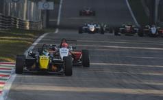 Victor Guerin (BRA),Dallara F308 FTP 420 CIF3,Lucidi Motors Srl and Raffaele Marciello (ITA), Dallara F308 FPT 420 CIF3,Prema Powerteam Srl , ITALIAN FORMULA 3 CHAMPIONSHIP