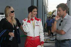 Juan Branger (J.D. Motorsport, F.Aci Csai Tatuus FA010 FPT #26), CAMPIONATO ITALIANO FORMULA ACI CSAI ABARTH