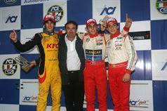 Santiago Urrutia (BVM Srl, F.Aci Csai Tatuus FA010 FPT #9); Antonio Giovinazzi (BVM Srl, F.Aci Csai Tatuus FA010 FPT #24); Nicolas Costa (Euronova R.By Fortec, F.Aci Csai Tatuus FA010 FPT #39) , CAMPIONATO ITALIANO FORMULA ACI CSAI ABARTH