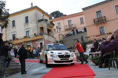 Giuseppe Dettori, Carlo Pisano (Skoda Fabia S2000#8), TROFEO RALLY TERRA