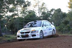 Fabio Gianfico, Rossetto Tolino (Mitsubishi Lancer Evo IX #6), TROFEO RALLY TERRA
