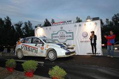 Luigi Ricci, Cristine Pfister (Subaru Impreza R4 #5), TROFEO RALLY TERRA