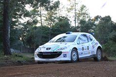 Mauro Trentin, Alice De Marco (Peugeot 207 S2000 #4), TROFEO RALLY TERRA