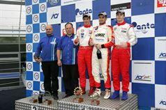 Podio gara 3, Denis Nagulin (Cram Motorsport,F.Aci Csai Tatuus FA010 FPT #7), Alessio Rovera (Cram Motorsport Srl, F.Aci Csai Tatuus FA 010 FPT,#12), Dario Orsini (NBC Group,F.Aci Csai Tatuus FA 010 FPT #58) , CAMPIONATO ITALIANO FORMULA ACI CSAI ABARTH