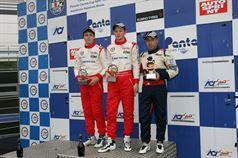 Gara 3 podio Trofeo Nazionale, Vitaly Larionov (SMP Racing Junior by Euronovc, F.Aci Csai Tatuus FA 010 FPT #72), Sergey Trofimov (SMP Racing Junior by Euronova, F.Aci Csai Tatuus FA 010 FPT #77), Gianmarco Maggiulli (Tomcat Racing,F.Aci Csai Tatuus FA010 FPT #83)   , CAMPIONATO ITALIANO FORMULA ACI CSAI ABARTH