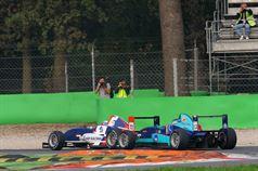 Alessio Rovera (Cram Motorsport Srl, F.Aci Csai Tatuus FA 010 FPT,#12), Vitaly Larionov (SMP Racing Junior by Euronovc, F.Aci Csai Tatuus FA 010 FPT #72) , CAMPIONATO ITALIANO FORMULA ACI CSAI ABARTH