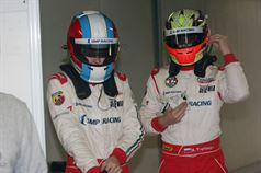 Sergey Trofimov (SMP Racing Junior by Euronova, F.Aci Csai Tatuus FA 010 FPT #77), Vitaly Larionov (SMP Racing Junior by Euronovc, F.Aci Csai Tatuus FA 010 FPT #72) , CAMPIONATO ITALIANO FORMULA ACI CSAI ABARTH