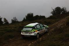 Luigi Ricci, Christine Pfister (Subaru Impreza N N4 #1, Movisport Srl), TROFEO RALLY TERRA
