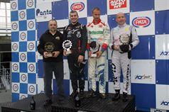 Gara 1 podio, Longhi Piero (Twister Italia,Formula 3 Dallara #3), Jorge Bas (TCR Motorsport,Tatuus FA 010 FPT CIFA #20), Giorgio Venica ( F 3 Dallara 308 F2IT #24) , CAMPIONATO ITALIANO FORMULA ACI CSAI ABARTH