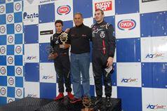 Gara 1 podio Formula ACI CSAI Abarth, Jorge Bas (TCR Motorsport,Tatuus FA 010 FPT CIFA #20), Fernando Madera (TCR Racing Team SA,Tatuus FA 010 FPT CIFA #56) , CAMPIONATO ITALIANO FORMULA ACI CSAI ABARTH