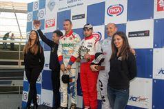 Podio gara 2, Simone Iaquinta (Technorace ASD,Tatuus FA 010 FPT CIFA #38), Longhi Piero (Twister Italia,Formula 3 Dallara 308 F2IT#3), Giorgio Venica ( F 3 Dallara 308 F2IT #24) , CAMPIONATO ITALIANO FORMULA ACI CSAI ABARTH