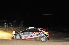 Luigi Ricci, Christine Pfister (Ford Fiesta R5, #8 Movisport SRL);, TROFEO RALLY TERRA