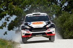 Luigi Ricci, Chrstine Pfister (Ford Fiesta R5 #8, Movisport);, TROFEO RALLY TERRA