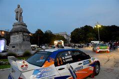 Cerimonia di partenza 21° Rally dell'Adriatico, Piazza Cavour Ancona;, TROFEO RALLY TERRA