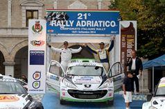 Renato Travaglia, Giacomo Ciucci; Cerimonia di Premiazione Trofeo Rally Terra TRT;, TROFEO RALLY TERRA