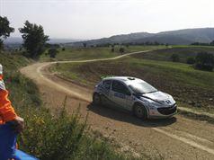 Travaglia_Ciucci_ Peugeot_207_S2000_Shakedown_2014, TROFEO RALLY TERRA