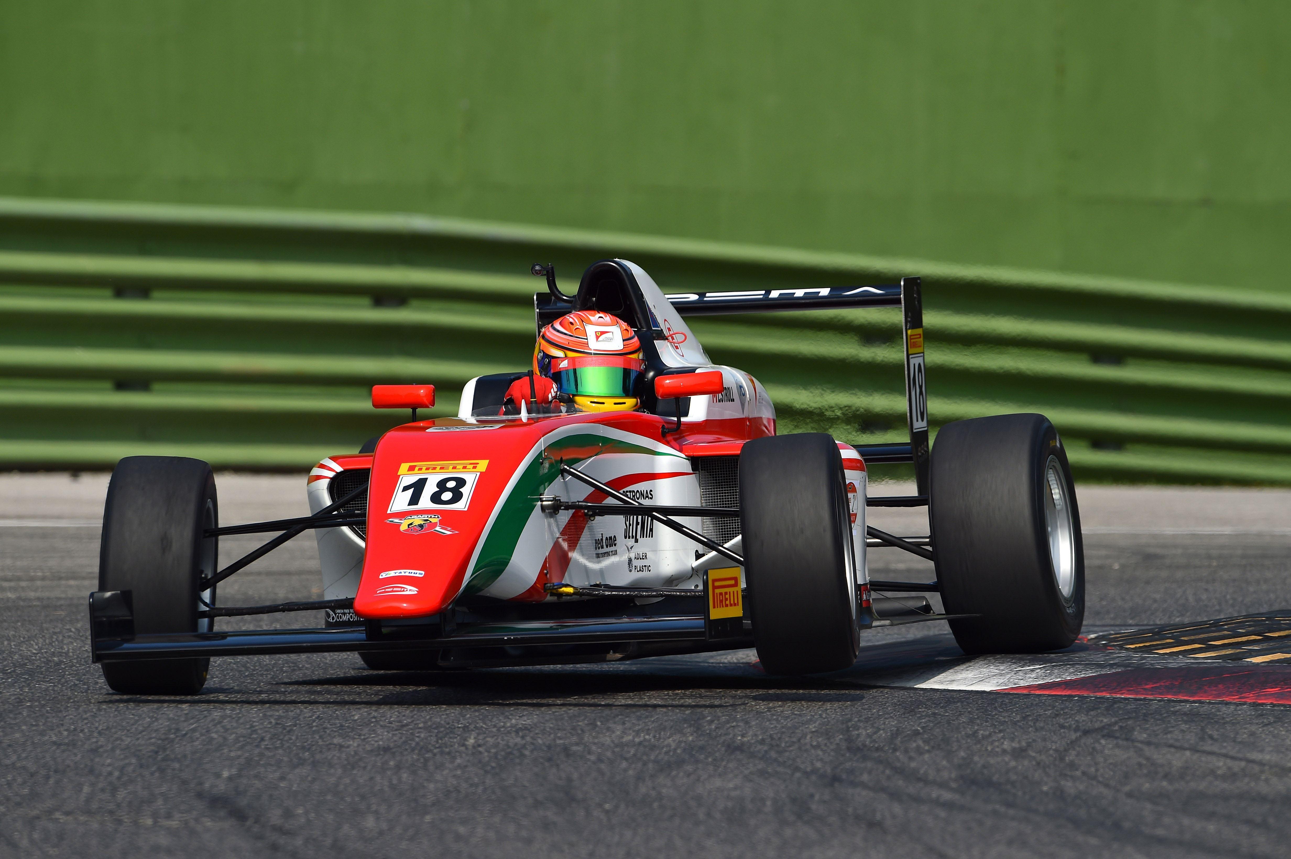 Lance Stroll Prema Powerteam Italian F4 2014 Imola 4928 3280 F1feederseries