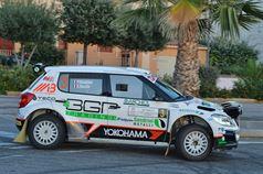 Pablo Biolghini, Silvia Rocchi (Skoda Fabia S2000 #3, ASD Racevent), TROFEO RALLY TERRA