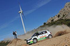 Giuseppe Dettori, Carlo Pisano (Skoda Fabia S2000 #6, Porto Cervo Racing), TROFEO RALLY TERRA