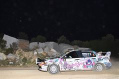 Gianmarco Donetto, Marco Pagani (Mitsubishi Lancer EVO IX N4 #5, ASD Sport Management), TROFEO RALLY TERRA