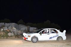 Giovanni Manfrinato, Michele Manfrinato (Mitsubishi Lancer EVO IX R4 #4, Porto Cervo Racing), TROFEO RALLY TERRA