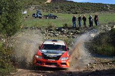Francesco Marrone, Francesco Fresu (Mitsubishi Lancer EVO IX N4 #15, Team Alghero Corse), TROFEO RALLY TERRA