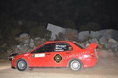 Valter Pierangioli, Giancarla Guzzi (Mitsubishi Lancer EVO IX R4 #11), TROFEO RALLY TERRA