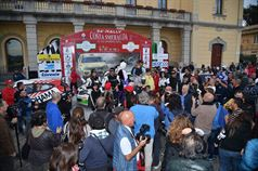 Podio: Giuseppe Dettori, Carlo Pisano (Skoda Fabia S2000 #6, Porto Cervo Racing), Luigi Ricci, Cristine Pfister (Ford Fiesta R5 #2, Movisport S.R.L), Francesco Marrone, Francesco Fresu (Mitsubishi Lancer EVO IX N4 #15, Team Alghero Corse), TROFEO RALLY TERRA
