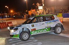 Filippo Reggini, Massimo Bizzocchi (Skoda Fabia S2000 #8, San Marino Corse), TROFEO RALLY TERRA