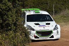 Mauro Trentin, Alice De Marco (Peugeot 208T16 R5 #1, Movisport S.R.L), TROFEO RALLY TERRA