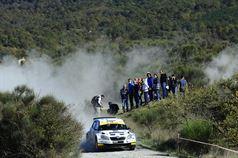 Daniele Ceccoli, Piercarlo Capolongo (Skoda Fabia S2000 #23, Scuderia San Marino), TROFEO RALLY TERRA