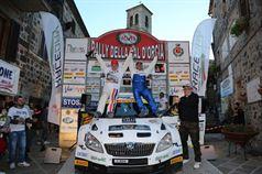 Daniele Ceccoli, Piercarlo Capolongo (Skoda Fabia S2000 #23, Scuderia San Marino), Campioni Italiani TRT 2016, TROFEO RALLY TERRA