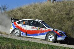 Luciano Cobbe, Fabio Turco (Ford Focus WRC #5, Meteco Corse Srl), TROFEO RALLY TERRA