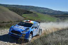 Andrea Dalmazzini, Giacomo Ciucci (Ford Fiesta R R5 #1, Modena Racing Team), TROFEO RALLY TERRA