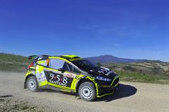 Gianmarco Donetto, Marco Menchini (Ford Fiesta R R5 #15, Eurospeed), TROFEO RALLY TERRA