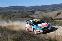 Francesco Fanari, Silvio Stefanelli (Ford Fiesta R R5 #12), TROFEO RALLY TERRA