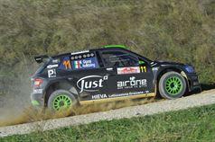 Luca Hoelbling, Mauro Grassi (Skoda Fabia R R5 #11, Car Racing), TROFEO RALLY TERRA