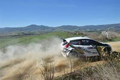 Giovanni Manfrinato, Claudio Condotta (Ford Fiesta R R5 #3, Porto Cervo Racing), TROFEO RALLY TERRA