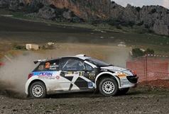 Daniele Batistini (ITA) Francesco Pinelli (ITA) Peugeot 207 S2000,Power Car Team, TROFEO RALLY TERRA