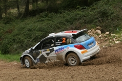Daniele Batistini (ITA) Francesco Pinelli (ITA) Peugeot 207 S2000,Power Car Team, TROFEO RALLY TERRA