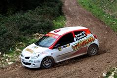 Alessandro Broccoli (RSM) Monica Cicognini (ITA), Renaul New Clio RS, TROFEO RALLY TERRA