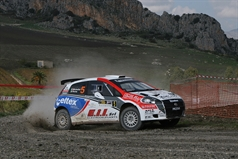 Moreno Cenedese (ITA) Roberto Simioni(ITA),Ford Fiesta S200, TROFEO RALLY TERRA