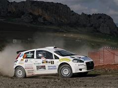Giovanni Cutrera (ITA) Valentina Di Palermo (ITA),Abarth Grande Punto S2000, TROFEO RALLY TERRA